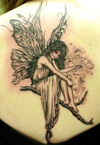 Картинки ангелов тату для девушек